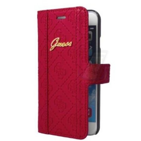 Guess Guess Booktype voor Apple iPhone 6 Plus  - Roze (3700740349779)