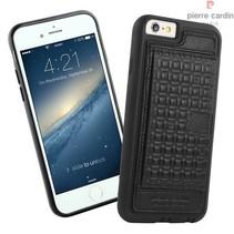 Pierre Cardin Achterkant voor Apple iPhone 6  -  Zwart (8719273214510)