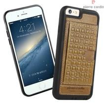 Pierre Cardin Achterkant voor Apple iPhone 6  -  Bruin (8719273214527)