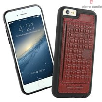 Pierre Cardin Achterkant voor Apple iPhone 6  -  Rood (8719273214534)