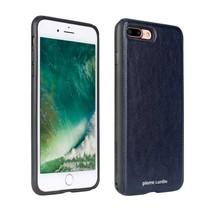 Pierre Cardin Achterkant voor Apple iPhone 7-8Plus  -  Blauw (8719273130230)