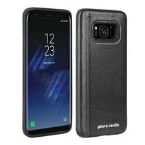 Pierre Cardin Achterkant voor Samsung Galaxy S8  -  Zwart (8719273131091)