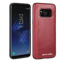 Pierre Cardin Achterkant voor Samsung Galaxy S8  -  Rood (8719273131107)