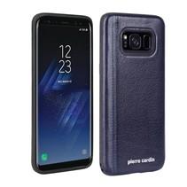 Pierre Cardin Achterkant voor Samsung Galaxy S8  -  Sapphire Blauw (8719273131121)