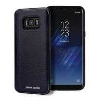 Pierre Cardin Achterkant voor Samsung Galaxy S8 Plus  -  Sapphire Blauw (8719273131176)