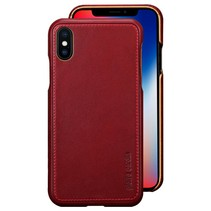 Pierre Cardin Achterkant voor Apple iPhone X-Xs  -  Rood (8719273140680)