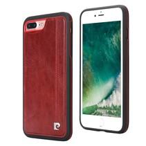 Pierre Cardin Achterkant voor Apple iPhone 7-8Plus  -  Rood (8719273230404)
