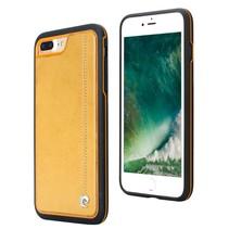 Pierre Cardin Achterkant voor Apple iPhone 7-8Plus  -  Geel (8719273230480)