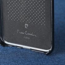 Pierre Cardin Achterkant voor Samsung Galaxy S8 Plus  -  Zwart (8719273133644)