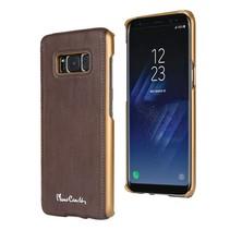 Pierre Cardin Achterkant voor Samsung Galaxy S8  -  D Bruin (8719273133736)