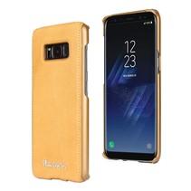 Pierre Cardin Achterkant voor Samsung Galaxy S8  -  Geel (8719273133712)
