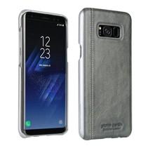 Pierre Cardin Achterkant voor Samsung Galaxy S8 Plus  -  Grijs (8719273133699)
