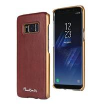 Pierre Cardin Achterkant voor Samsung Galaxy S8  -  Rood (8719273133729)