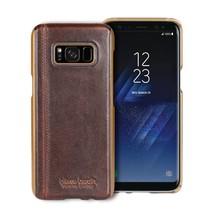 Pierre Cardin Achterkant voor Samsung Galaxy S8  -  D Bruin (8719273133613)