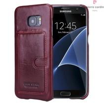 Samsung Galaxy S7 Edge - G935F - Pierre Cardin Hardcase hoesje - Rood (8719273214473)