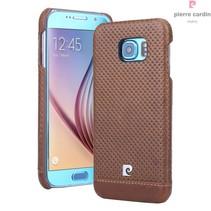 Samsung Galaxy S6 - G9200 - Pierre Cardin Hardcase hoesje - Bruin (8719273214947)