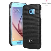 Samsung Galaxy S6 - G9200 - Pierre Cardin Hardcase hoesje - Zwart (8719273214930)