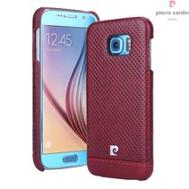 Samsung Galaxy S6 - G9200 - Pierre Cardin Hardcase hoesje - Rood (8719273214954)