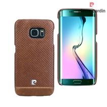 Samsung Galaxy S6 Edge - G925 - Pierre Cardin Hardcase hoesje - Bruin (8719273214978)