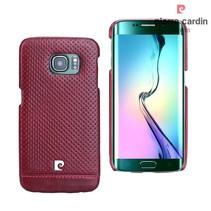 Samsung Galaxy S6 Edge - G925 - Pierre Cardin Hardcase hoesje - Rood (8719273214985)