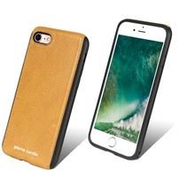 Pierre Cardin Achterkant voor Apple iPhone 7-8 -  Geel (8719273129494)