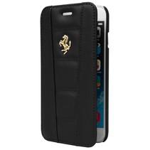 Ferrari Booktype voor Apple iPhone 6  - Zwart (3700740347874)