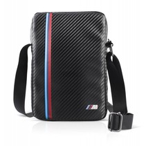 BMW Tas Carbon Effect voor Laptop/Tablet (9'' - 10'') - Tricolor (3700740396490)