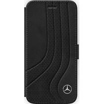 Mercedes-Benz Booktype voor Apple iPhone 7-8  - Zwart (3700740417997)