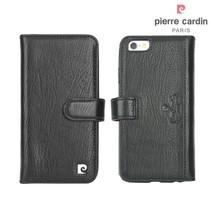Pierre Cardin Booktype voor Apple iPhone 6  - Zwart (8719273215418)