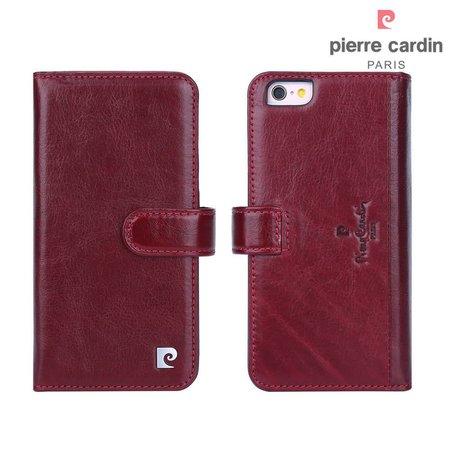 Pierre Cardin Pierre Cardin Booktype voor Apple iPhone 6  - Rood (8719273215432)