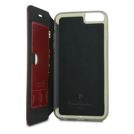 Pierre Cardin Pierre Cardin Booktype voor Apple iPhone 6  - Rood (8719273215104)