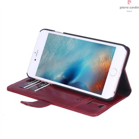 Pierre Cardin Pierre Cardin Booktype voor Apple iPhone 6  - Rood (8719273215289)