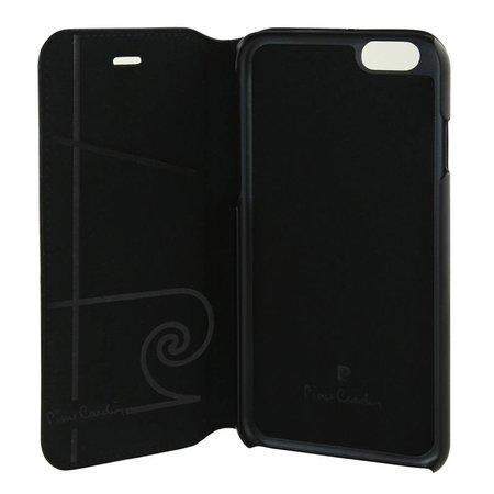 Pierre Cardin Pierre Cardin Booktype voor Apple iPhone 6  - Zwart (8719273215593)