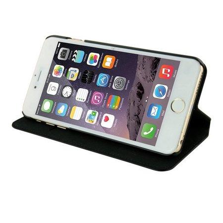Pierre Cardin Pierre Cardin Booktype voor Apple iPhone 6  - Zwart (8719273215647)