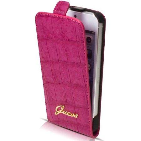 Guess Apple iPhone 5G/SE - iPh 5G/SE - Guess Flipcase hoesje - Roze