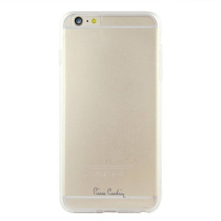 Pierre Cardin Apple iPhone 6/6S Plus Pierre Cardin Siliconen hoesje - Transprant (8719273213445)