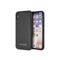 Guess Achterkant voor Apple iPhone X-Xs  -  Zwart (3700740407851)