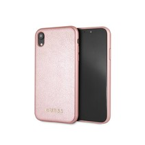 Guess Achterkant voor Apple iPhone XR  -  Rose Gold (3700740437551)