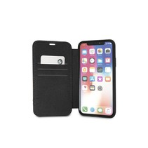 BMW Booktype voor Apple iPhone X-Xs  - Taupe (3700740409503)