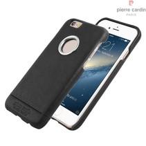 Pierre Cardin Achterkant voor Apple iPhone 6  -  Zwart (8719273128244)