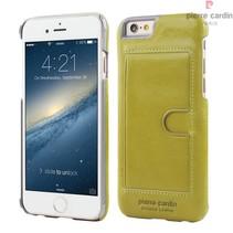 Pierre Cardin Achterkant voor Apple iPhone 6  -  Groen (8719273214244)