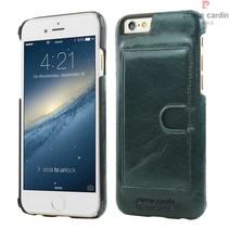 Pierre Cardin Achterkant voor Apple iPhone 6  -  D Groen (8719273214251)