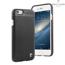 Pierre Cardin Achterkant voor Apple iPhone 6  -  Zwart (8719273214879)