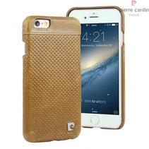 Pierre Cardin Achterkant voor Apple iPhone 6  -  Bruin (8719273214886)