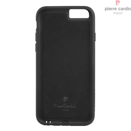 Pierre Cardin Pierre Cardin Achterkant voor Apple iPhone 6  -  Zwart (8719273214510)