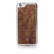 Mercedes-Benz Achterkant voor Apple iPhone 6  -  Bruin (3700740361917)