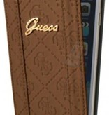 Guess Guess Booktype voor Apple iPhone 6  - Bruin (3700740349878)