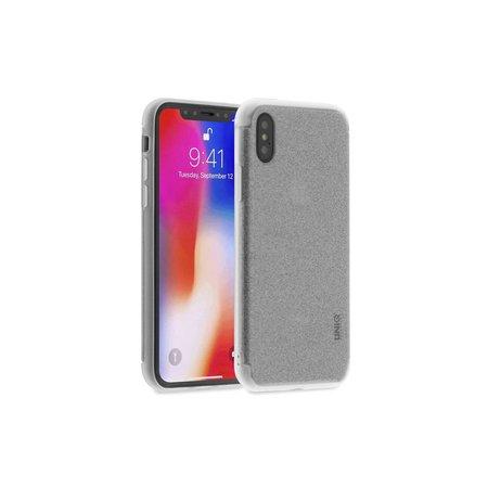 Achterkant voor Apple iPhone X-Xs  -  Zilver (8719273252604)