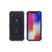 Achterkant voor Apple iPhone X-Xs  -  Zwart (8719273253472)