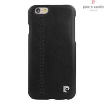 Pierre Cardin Achterkant voor Apple iPhone 6  -  Zwart (8719273131718)